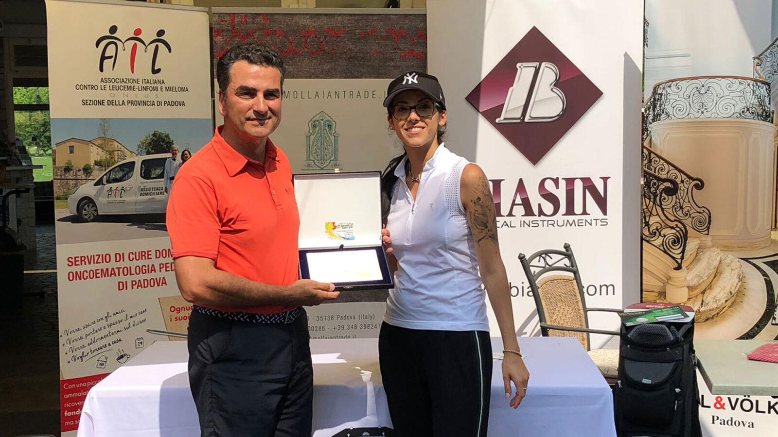 Paolo De Lissandri, vincitore del Lordo al Golf Club Terme di Galzignano