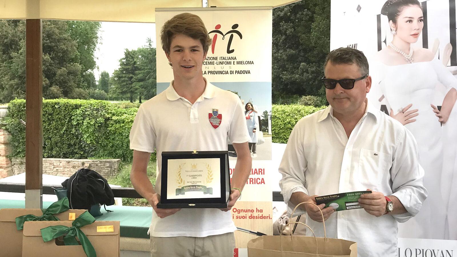Il giovane Piaser al comando del Golden Green Trophy dopo quattro tappe