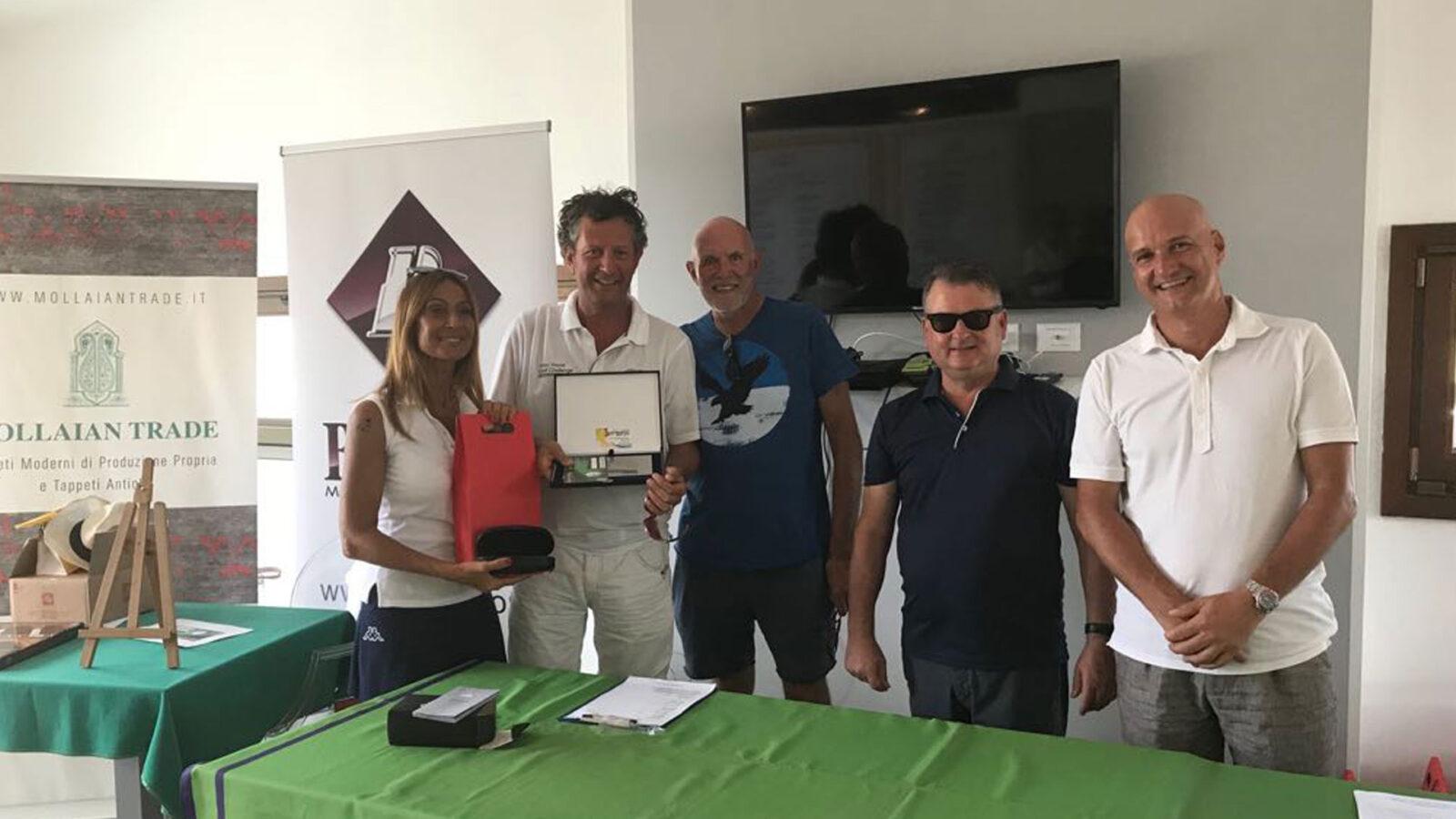 Luca Fiorini, vincitore del Lordo al Golf Club Jesolo