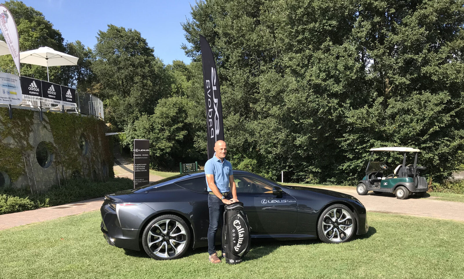 Paolo Cristallini, vincitore del Lordo al Golf Club Colli Berici